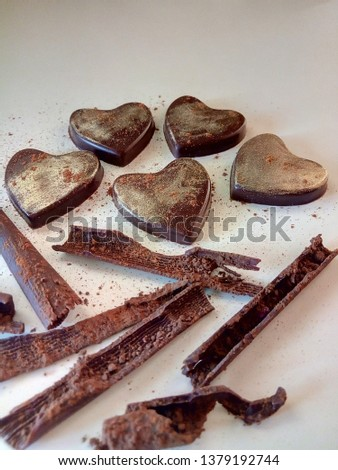 chocolate bon bons brown