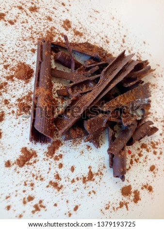 chocolate bon bons dessert