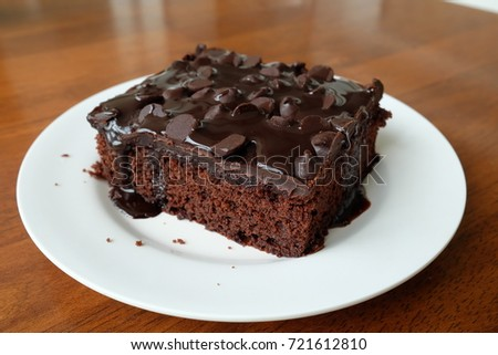 Chocolate brownies cake. #721612810