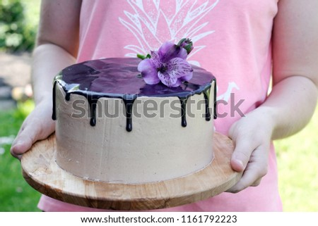 Free Photos Beautiful Chocolate Cake With Fresh Berries For Party