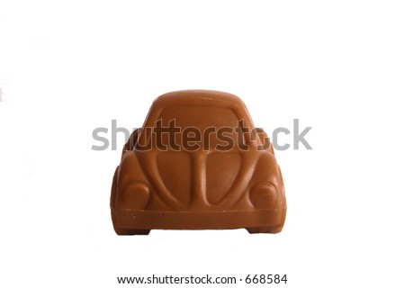 Chocolate Car - front