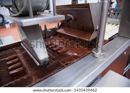 Chocolate Cheese Conveyor, Production Line