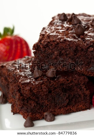 Chocolate Chip Brownies 5