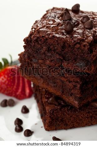 Chocolate Chip Brownies 9