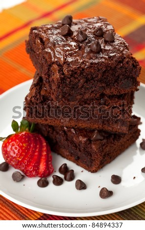 Chocolate Chip Brownies 8