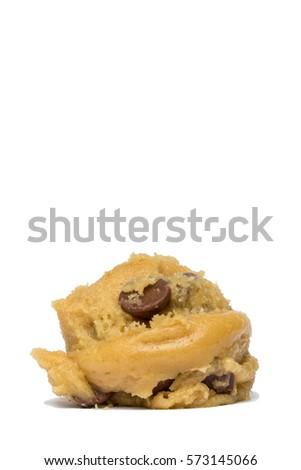 Chocolate Chip Cookie Dough Ball Stock photo ©