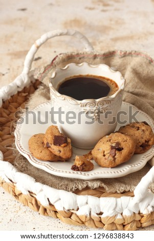 Chocolate chip cookies #1296838843
