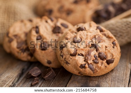Chocolate chip cookies #215684758