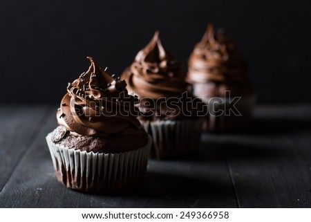 Chocolate cupcakes #249366958