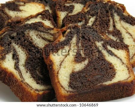 Chocolate Marble Cake Stock Photo 10646869 : Shutterstock