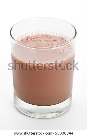 Chocolate Milk close up shot