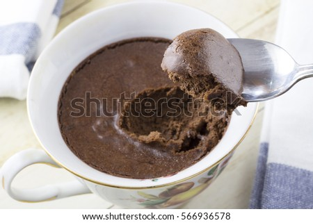 Chocolate mousse #566936578
