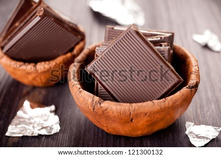 chocolate pieces i