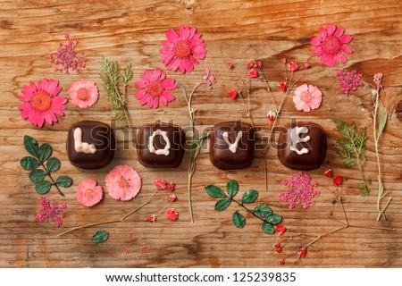 chocolate Valentine's present