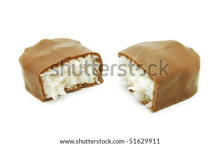 chocolate with cocos filling