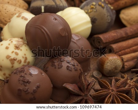 chocolated balls