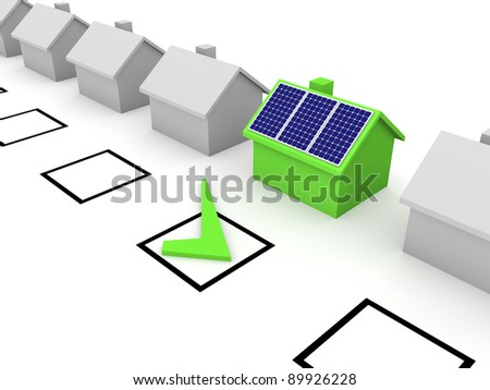 Choice of solar energy