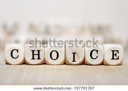 choice word concept