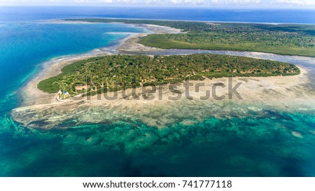 Chole in the foreground and Juani island in the background #741777118