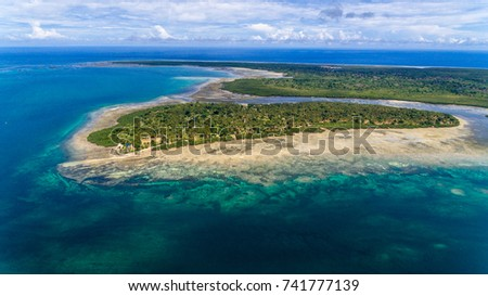 Chole in the foreground and Juani island in the background #741777139