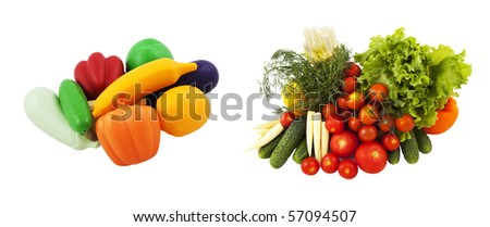 choose natural or artificial food!