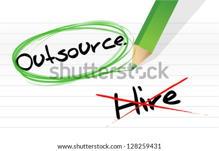 Choosing to Outsource instead of hiring illustration design