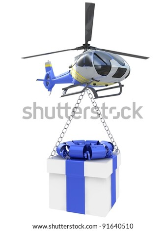 chopper with gift