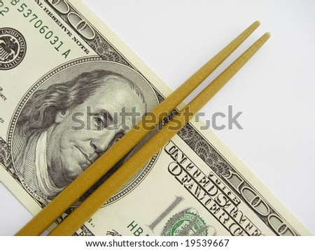 Chopsticks on dollar, rising food costs