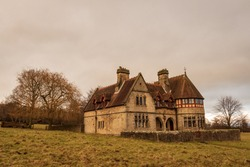 Choristers' House on a gloomy day in Studley Park