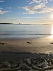 Chouet Beach Sunset, Guernsey Channel Islands