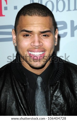 Chris Brown at the Salute To Icons Clive Davis Pre-Grammy Gala. Beverly Hilton Hotel, Beverly Hills, CA. 02-07-09
