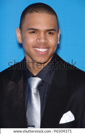 Chris Brown Image on Stock Photo   Chris Brown At The 37th Annual Naacp Image Awards At The