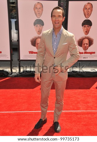 "Chris Diamantopoulos at the world premiere of his new movie ""The Three Stooges"" at Grauman's Chinese Theatre, Hollywood. April 7, 2012  Los Angeles, CA Picture: Paul Smith / Featureflash"