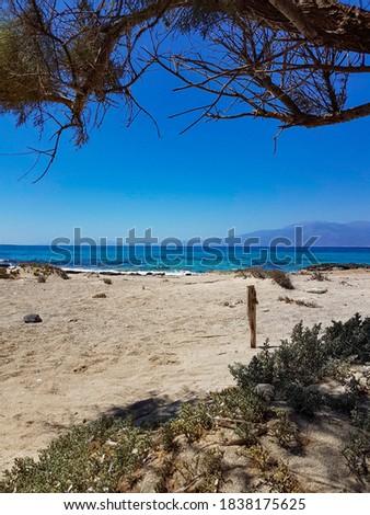Chrissi island, the golden beacht of Crete