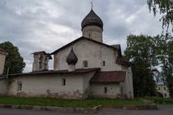 Christ Ascension church of the former Old Monastery of the Ascension in Pskov, Russia