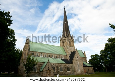 Christ Church Cathedral - Fredericton - Canada #545097532