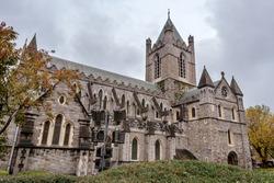 Christ Church Cathedral (Holy Trinity) in Dublin, Ireland