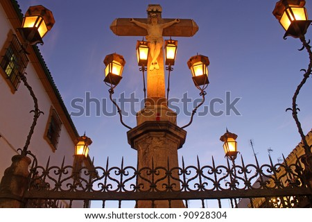 Christ of the Lanterns in Cordoba - Spain