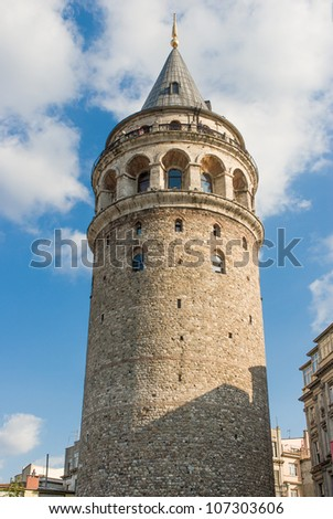 Christa Turris (Galata) Tower in Istanbul