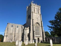 Christchurch Priory, Christchurch town in Dorset England