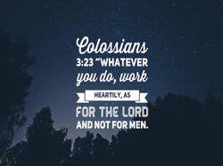 Christian Bible verse Nightstar trees