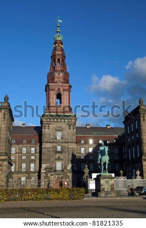 Christiansborg - building of danish parliament