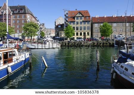 Christianshavn in Copenhagen - Denmark