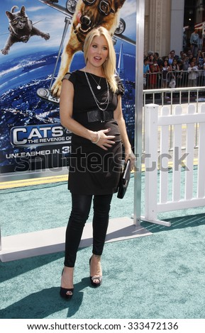 Christina Applegate at the Los Angeles Premiere of \