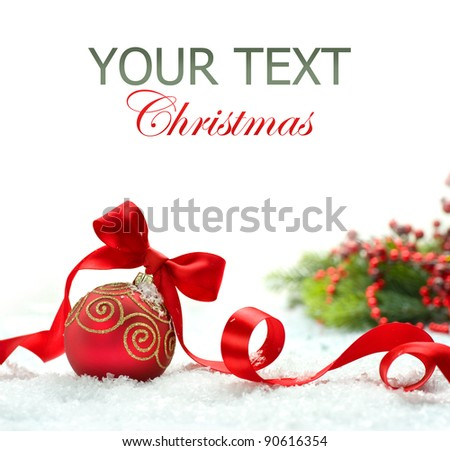 Christmas - stock photo