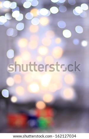 Christmas abstract