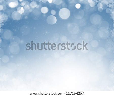 Christmas abstract blurred background
