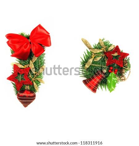 Christmas Alphabet special marks