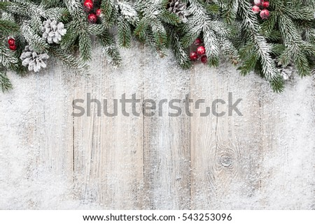 Christmas and New Year background #543253096