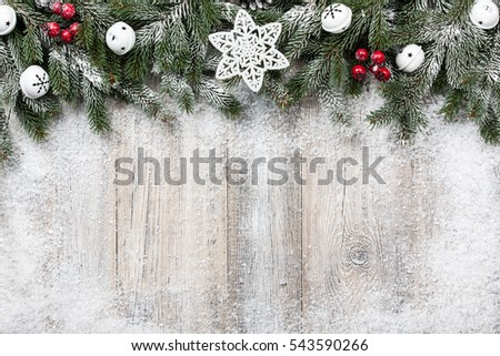 Christmas and New Year background #543590266